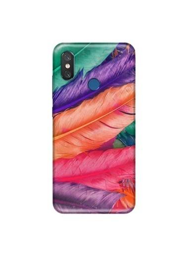 People's Cover Mi 8 Baskılı Telefon Kılıfı Renkli